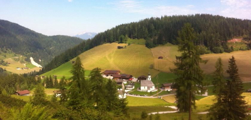 Oberau, The Wildschönau Valley, Austria - Thierbach view.jpg